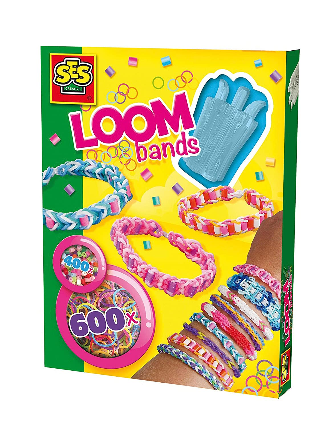ES SES Loom Bands with Beads