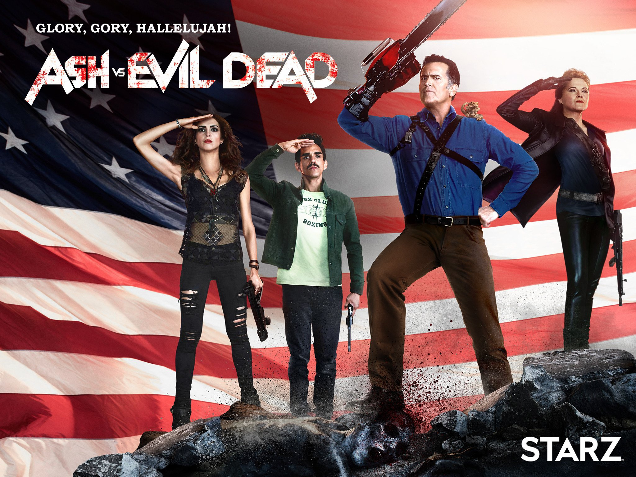 Amazon. Com: ash vs evil dead season 2: bruce campbell, ray.
