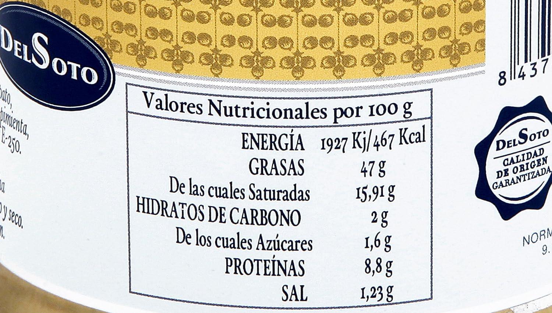 DELSOTO SELECCIÓN - PATE DE PATO Y AVESTRUZ CON ALMENDRAS CARAMELIZADAS de Excepcional Sabor y Texura: Amazon.es: Alimentación y bebidas