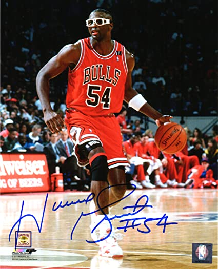 666f86fbe18 Image Unavailable. Image not available for. Color  Horace Grant Signed  Chicago Bulls ...