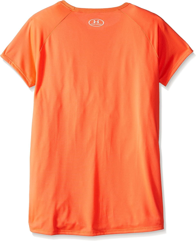 Camiseta Ni/ñas Under Armour Solid Big Logo SS T-ABN////Wht