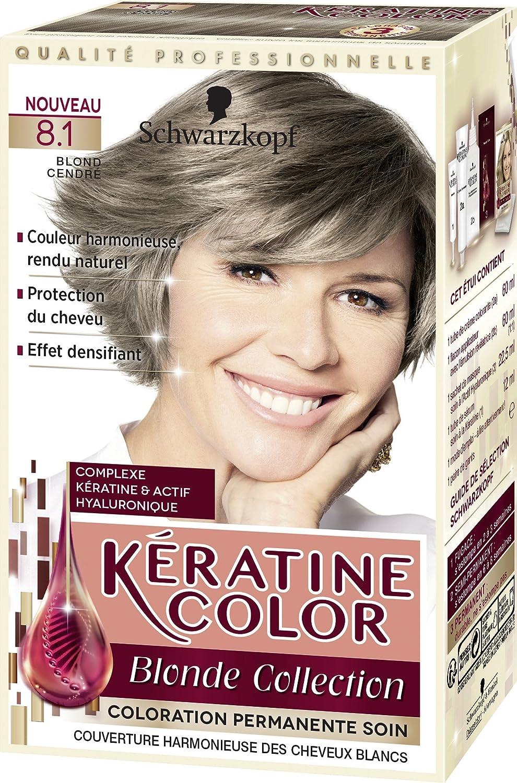 kratine color coloration permanente 81 blond cendr - Blond Cendr Coloration