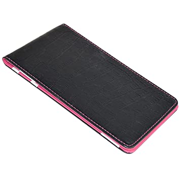 On Par Crocodile Scorecard Holder Black Pink