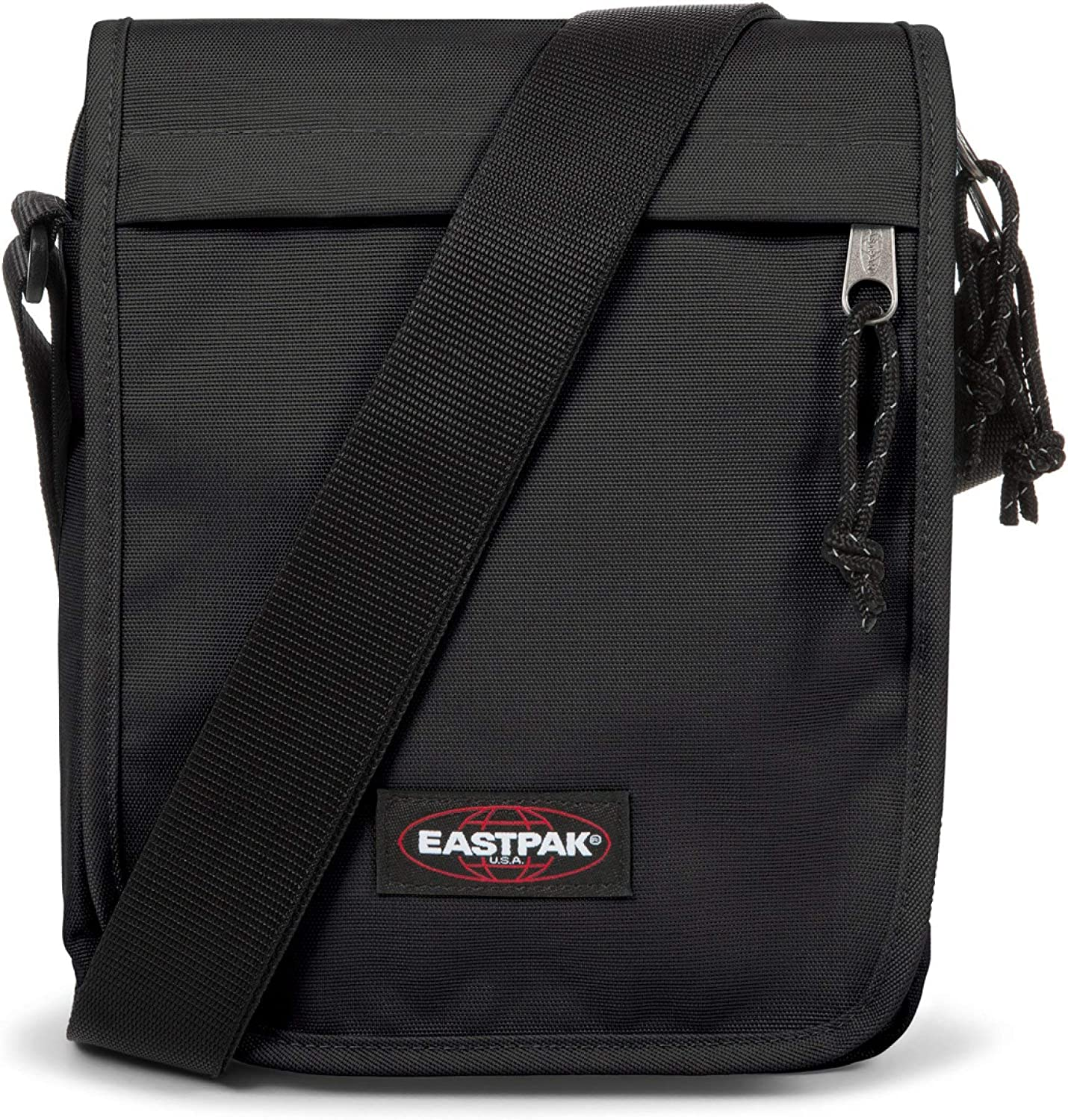 Black Denim Eastpak Flex Shoulder Bag