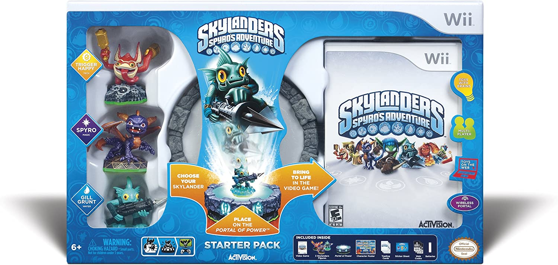 Amazon com: Skylanders Spyro's Adventure Starter Pack - Nintendo Wii