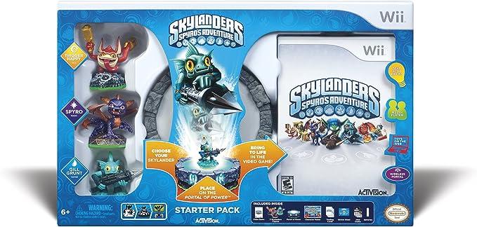 Activision Skylanders - Juego (Wii, Nintendo Wii, Acción, E10 + (Everyone 10 +)): Amazon.es: Videojuegos