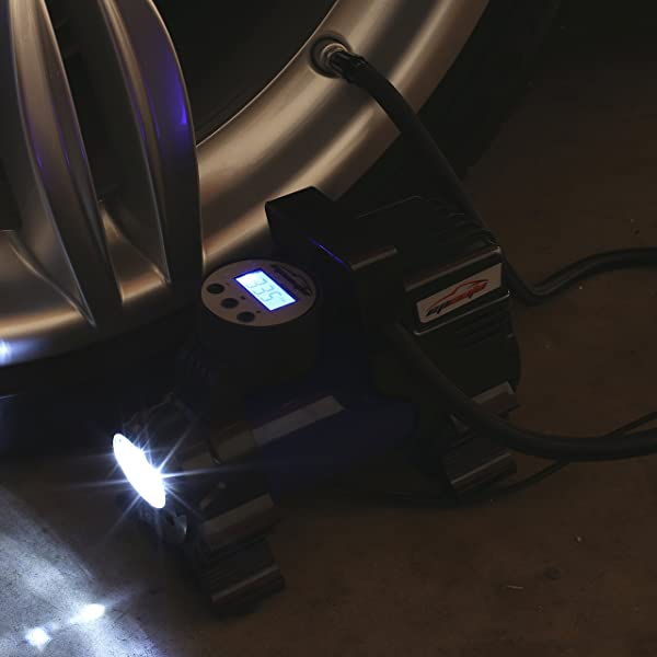you will also enjoy the digital display units as well as the LED flashlight that make it user-friendly.