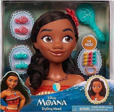 Moana Disney Princess Stying Head