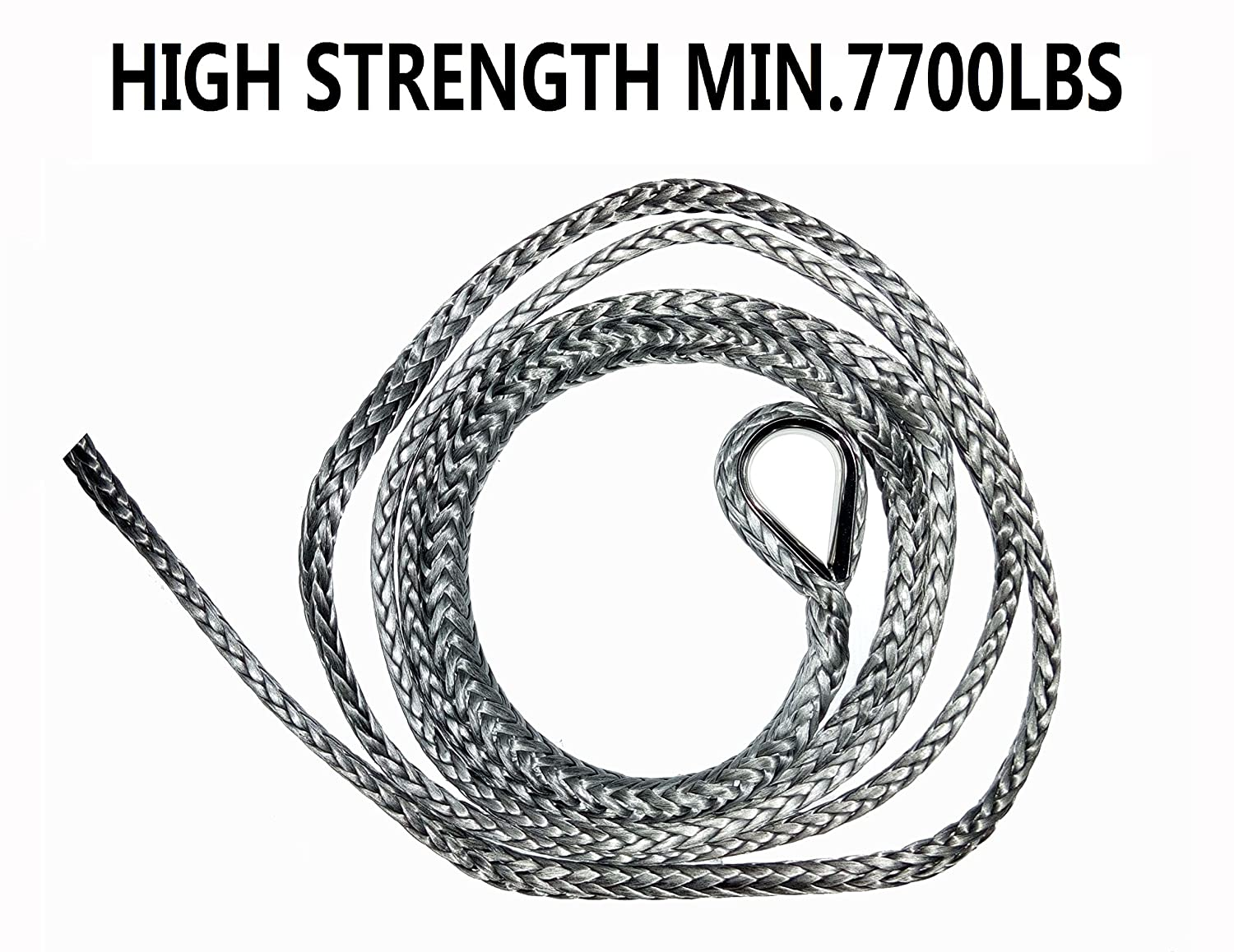ATV Snow Plow Lift Rope, Synthetic Winch Rope, UTV Rope, , Snow Plow Attachments