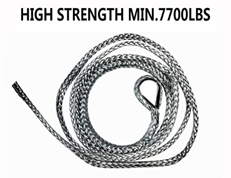amazon 1 4 synthetic plow lift rope high strength automotive Warn 2500 ATV Winch Wiring