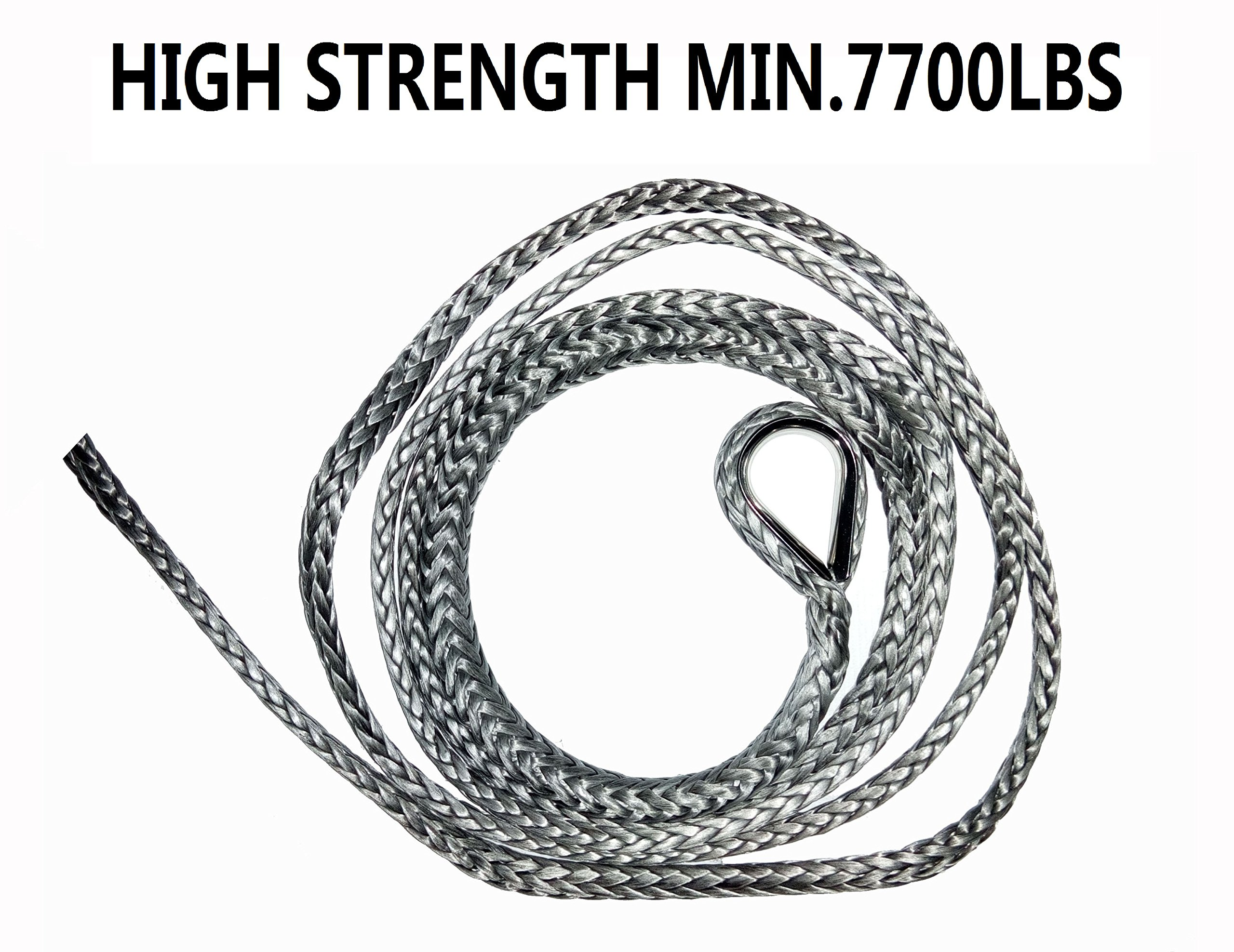 A-FUN Synthetic Plow Lift Rope 1/4'' 10' with 3 length option test report