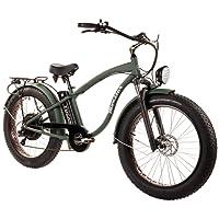 Tucano Bikes Monster 26. Vélo électrique 26• moteur: 1.000W-48V • vitesse maximale: 42km/h • Batterie: 48V 12Ah (Vert)