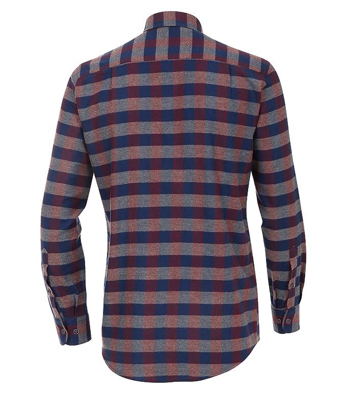 CASAMODA Herren Flanell Hemd Kariert Comfort Fit 100% Baumwolle: Casamoda:  Amazon.de: Bekleidung