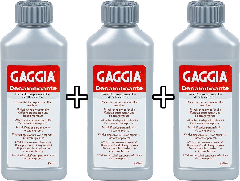 Gaggia 200198.3 - Desincrustante para cafeteras: Amazon.es: Hogar