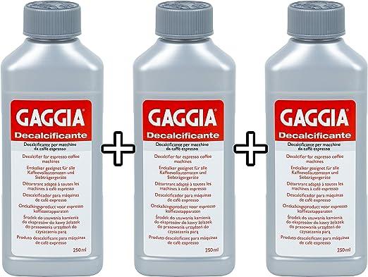 Amazon.com: Gaggia decalcifier Solución Descalcificador 250 ...