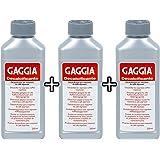 Gaggia Descaler Decalcifier 250ml RI9111/60 (3 Packs of 250ml)