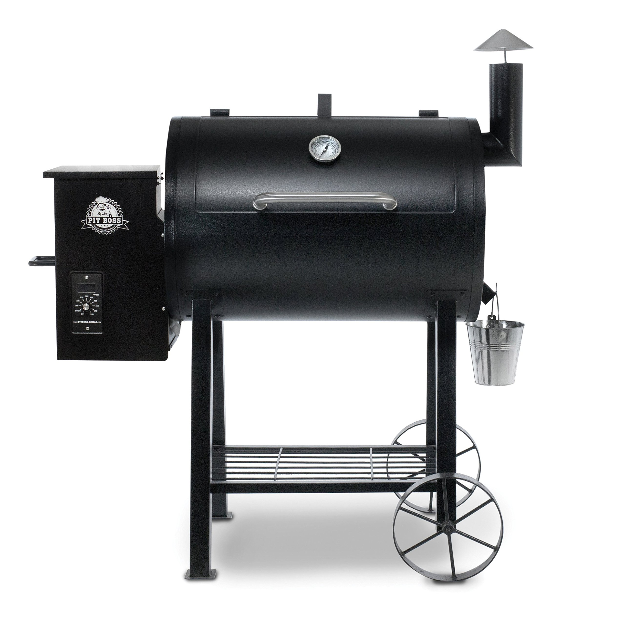 Pit Boss Grills 71820FB PB820FB BBQ Pellet Grill and Smoker, 820 sq. in. in by Pit Boss Grills