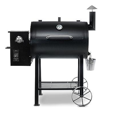 PIT BOSS 71820FB PB820FB BBQ Pellet Grill and Smoker, 820 sq. in