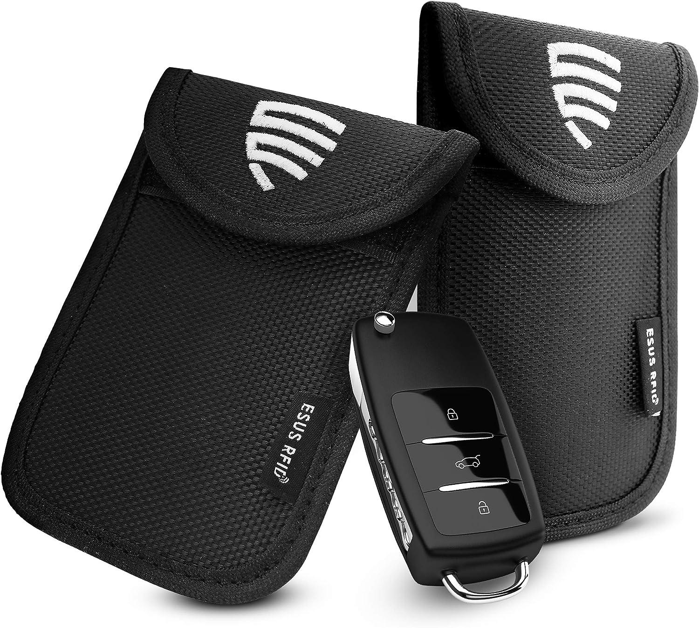 Esus 2x Keyless Go Schutz Autoschlüssel TÜv Geprüft Elektronik