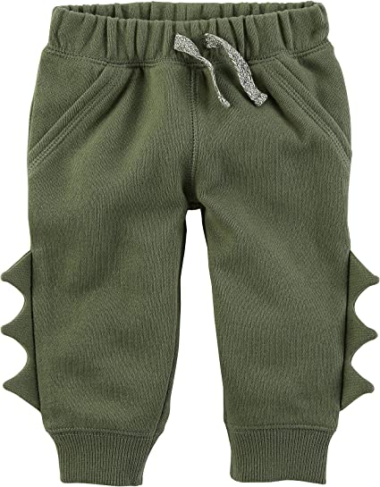 Carters Baby Boys Pull On Spike Fleece Joggers