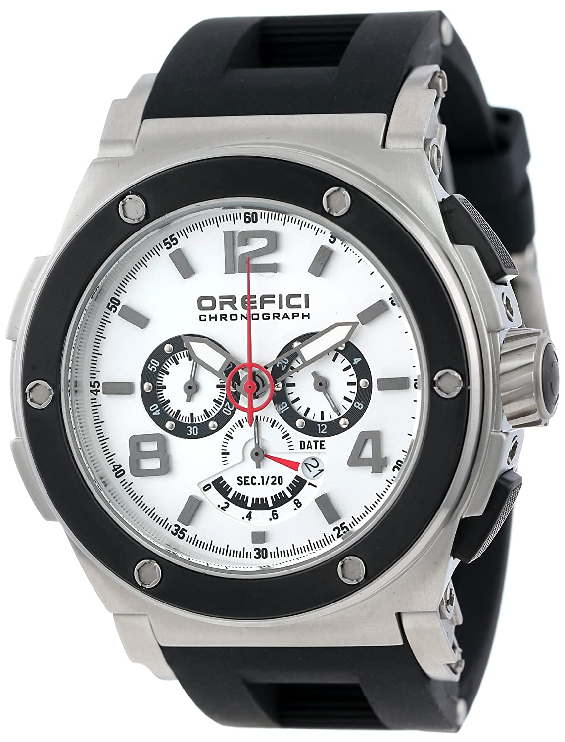 Amazon.com: Orefici Unisex ORM1C4802 Regata Chronograph Strong Bold Powerful Italian Watch: Watches
