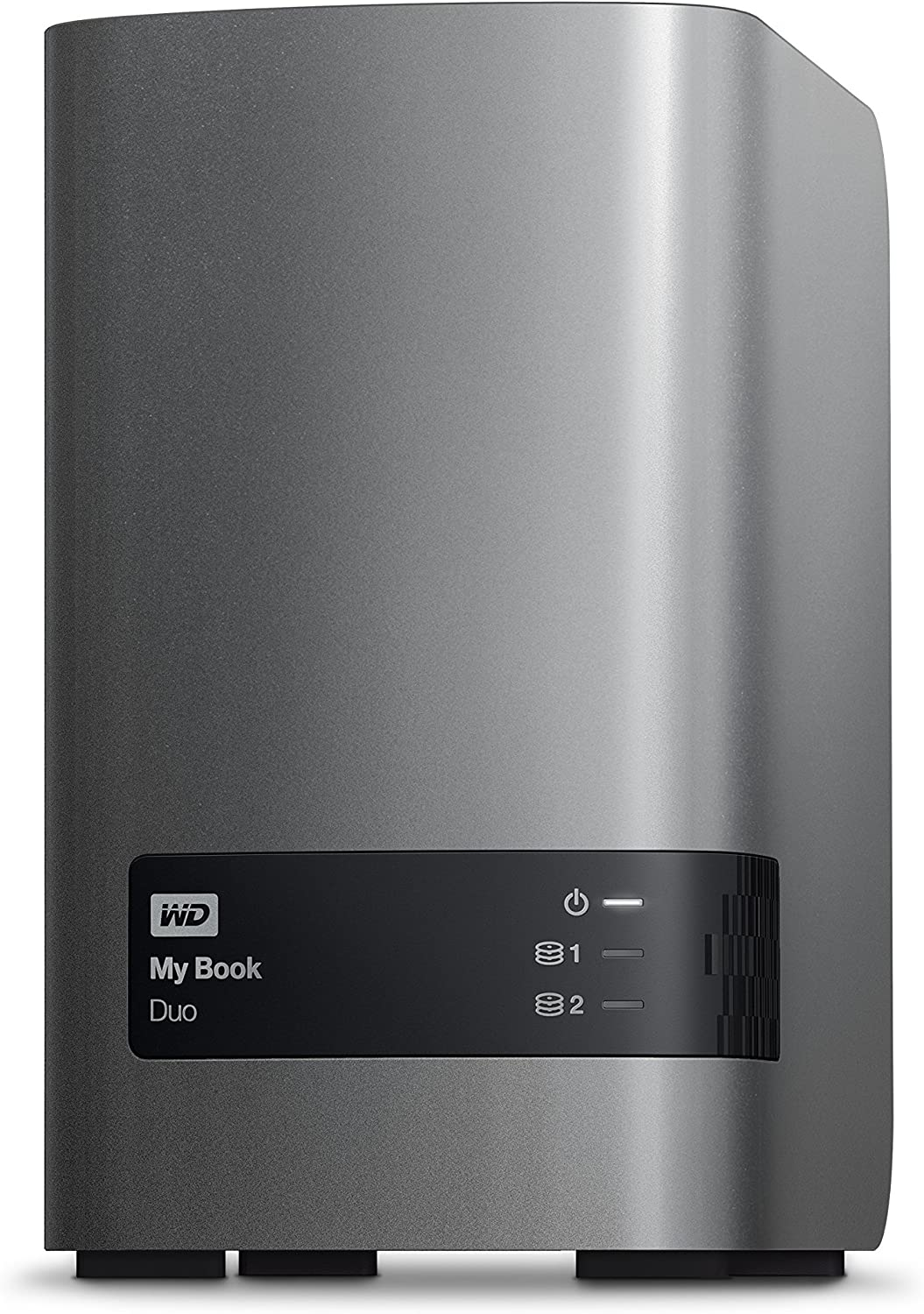 WD 6TB My Book Duo Desktop RAID External Hard Drive - USB 3.0 - WDBLWE0060JCH-NESN