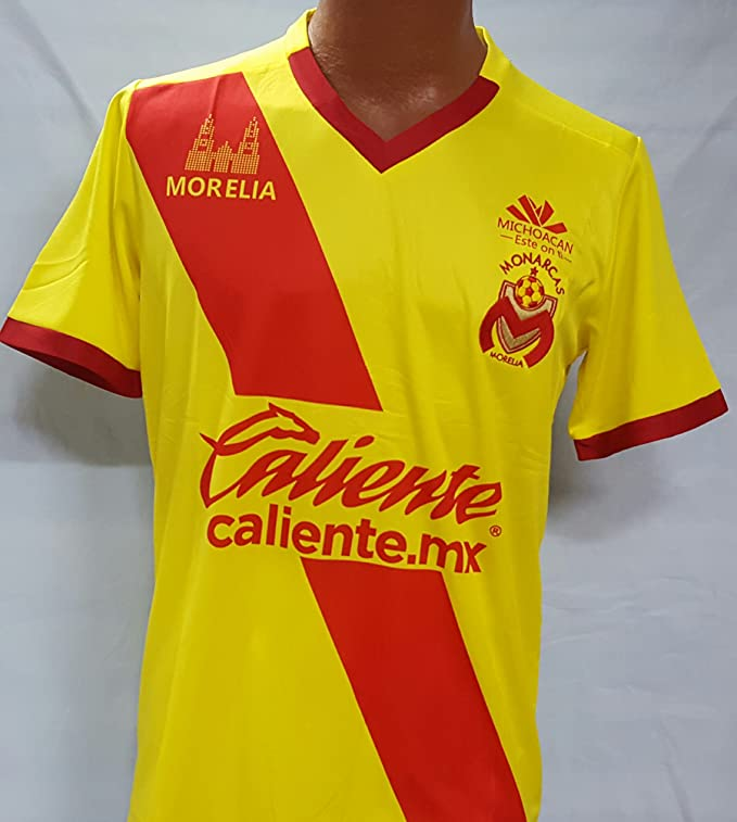 Monarcas de Morelia Home Generic Replica Adult Jersey Liga MX. Size Large. : Sports & Outdoors