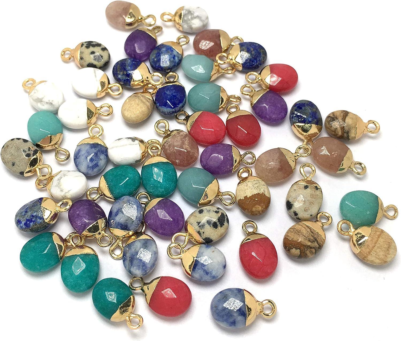 """White Turquoise Waterdrop Gemstone Spacer Beads 16/"""" Jewelry Making DIY"""