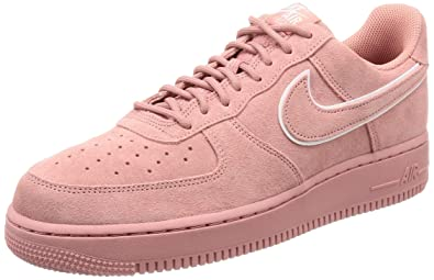 NIKE Air Force 1 '07 LV8 Suede Men's Shoes Red Stardust aa1117-601 (