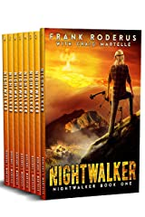 The Nightwalker Complete 8-Book Omnibus: A Post-Apocalyptic Western Adventure Kindle Edition