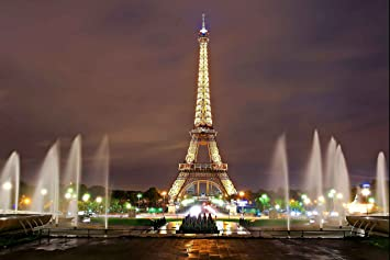 Amazoncom Eiffel Tower Photography Backdrop 9x6 Ft Paris Backdrop