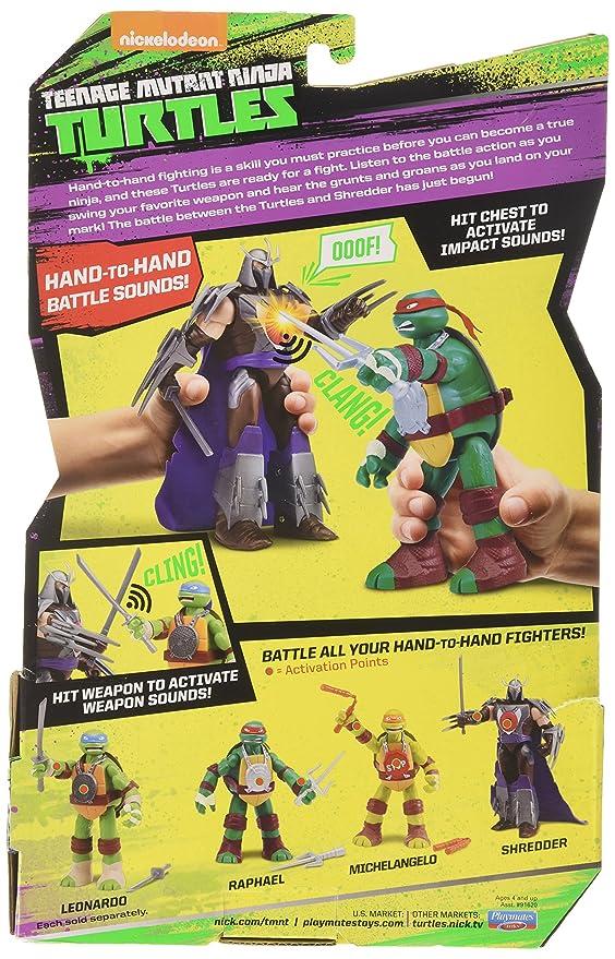 Amazon.com: Teenage Mutant Ninja Turtles Leo Hand-to-Hand ...