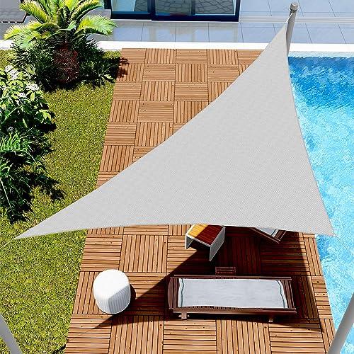 Windscreen4less 18' x 23' x 29.2' Triangle Sun Shade Sail