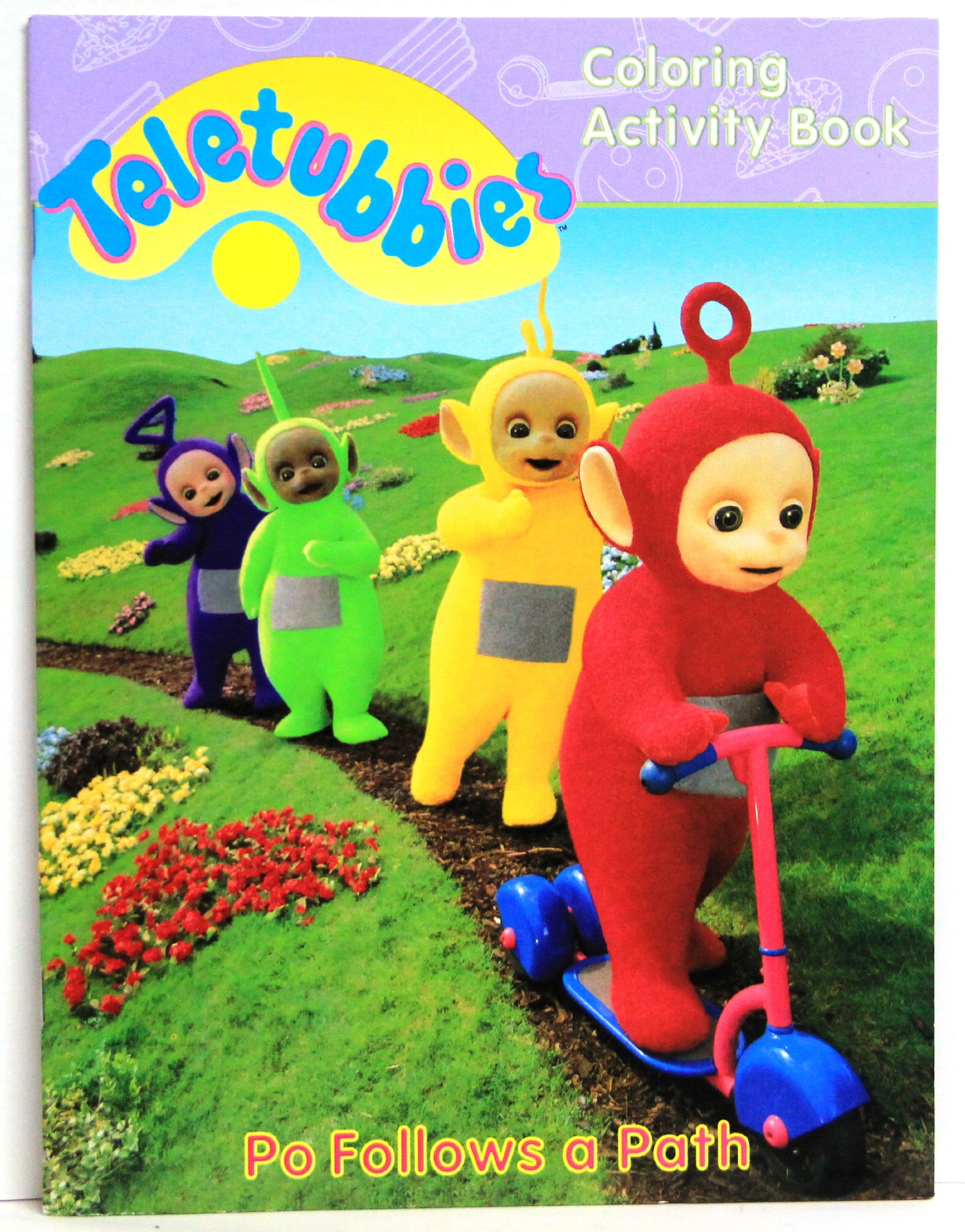 - Po Follows A Path: Teletubbies Coloring Activity Book: Andrew