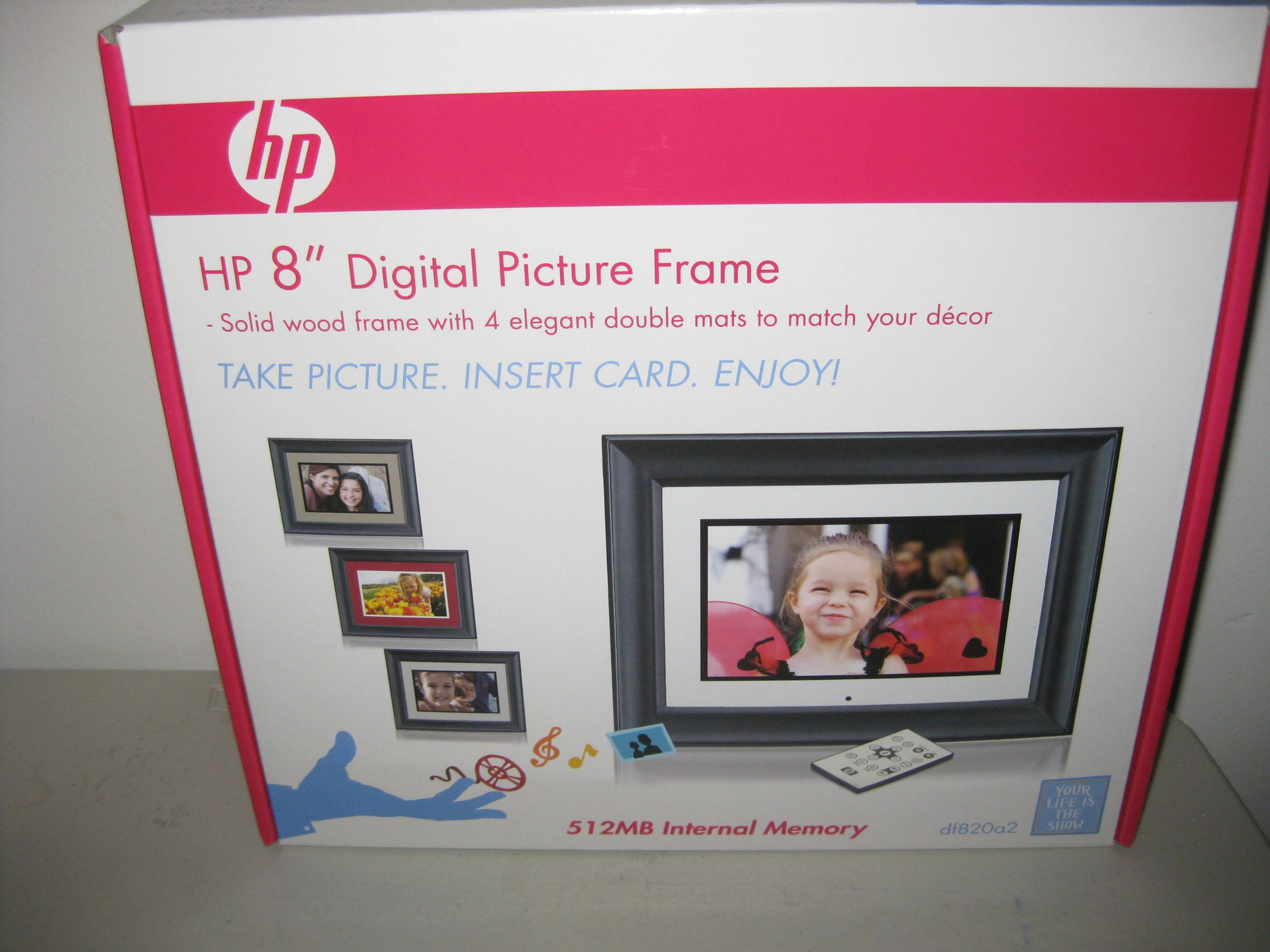 HP 8'' Digital Picture Frame df820a2 by HP