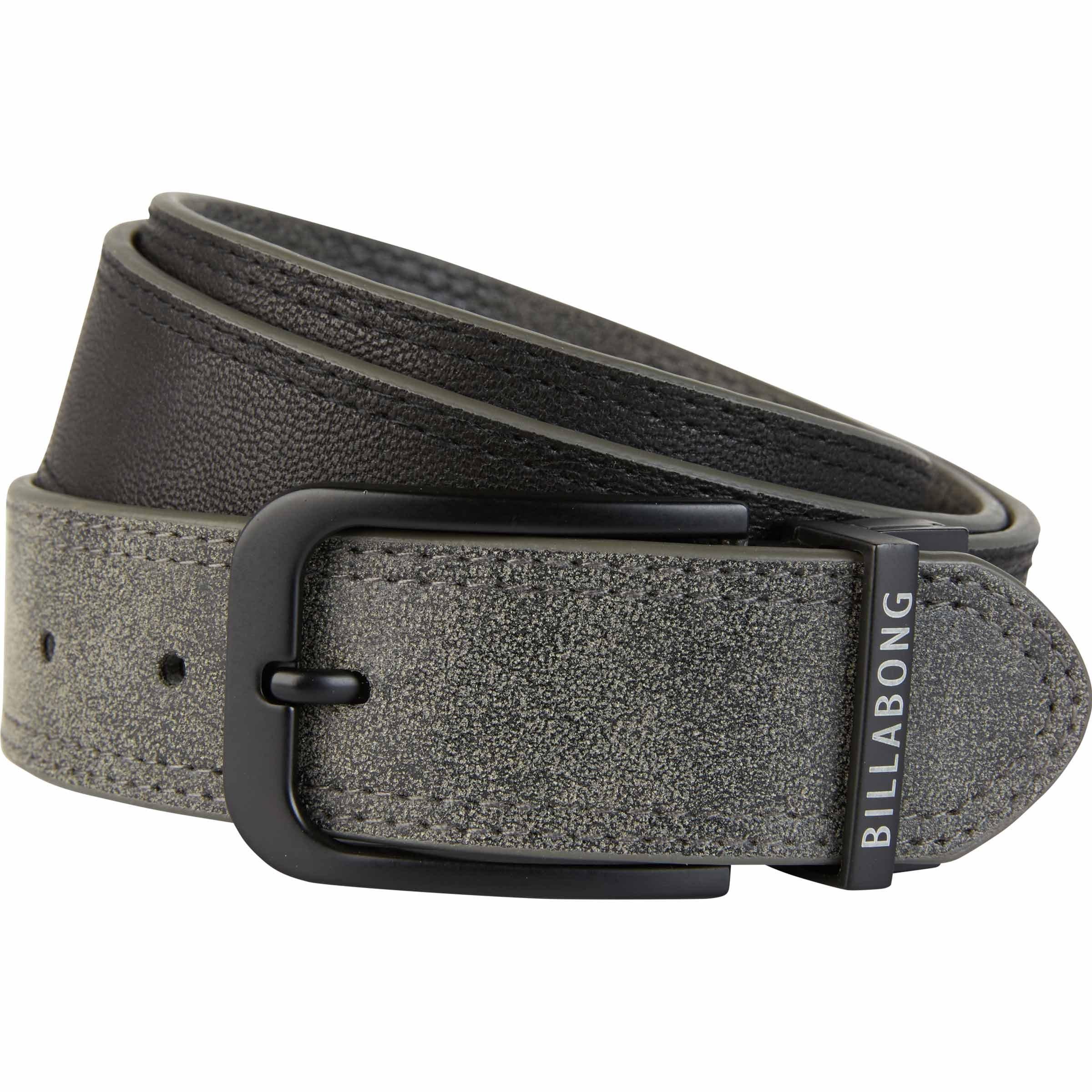 Billabong Men's Split Reversible Belt, Black, M