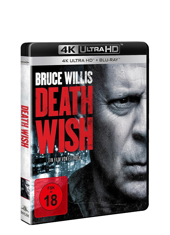 Death Wish 4K Ultra HD + Blu-ray Alemania Blu-ray: Amazon.es ...
