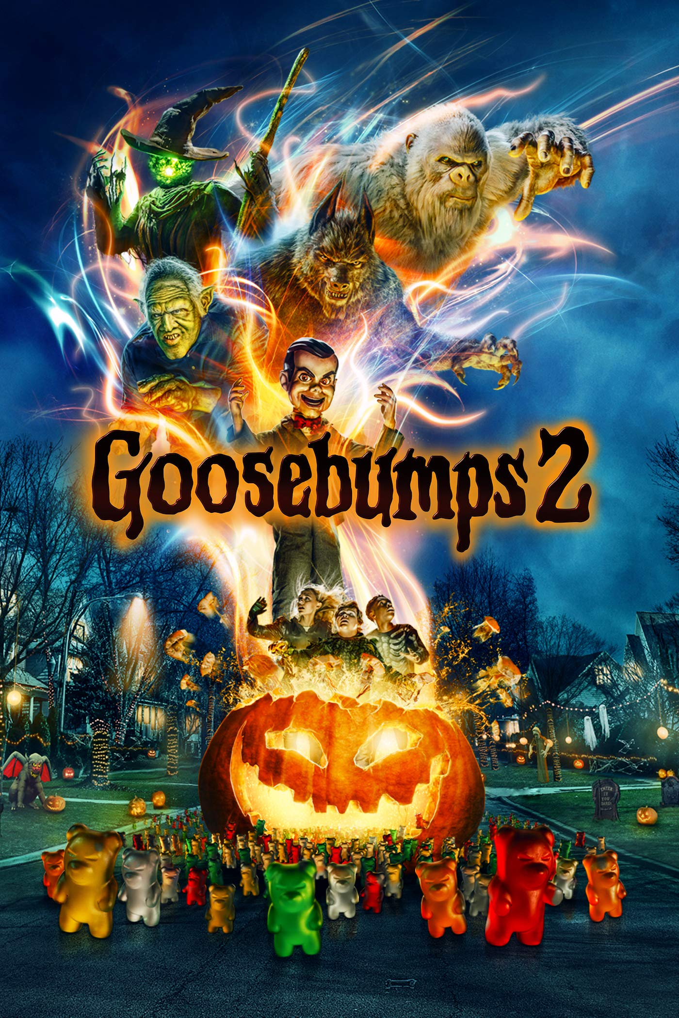 Book Cover: Goosebumps 2