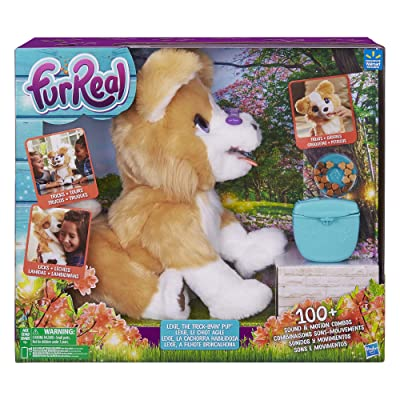FurReal Lexie, The Trick Lovin' Pup: Toys & Games