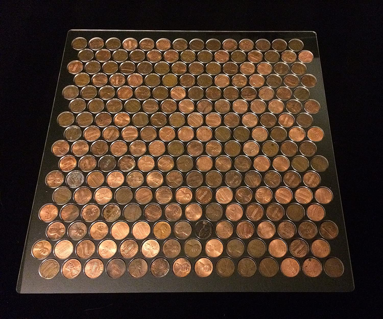 Penny floor tile templatejig plexiglass with border amazon maxwellsz