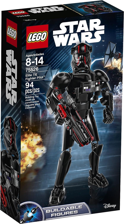 LEGO Star Wars Episode VIII Elite Tie Fighter Pilot 75526 Building Kit (94 Piece)