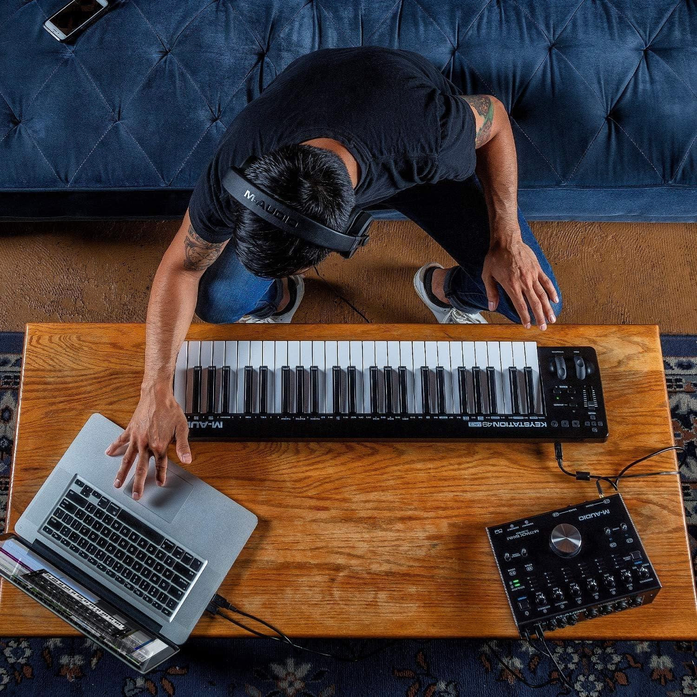 M-Audio Keystation 49MK3 + SP-2: Amazon.es: Electrónica