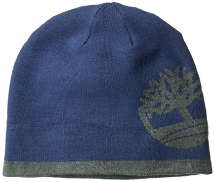 d73eea06a51d7 Timberland Men s Reversible Knit In Tree Beanie