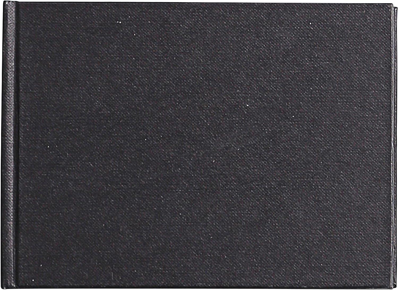 negro Goldline 140 G A5 marfil anillas vertical de papel cuaderno de dibujo