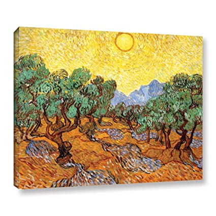 9f72df88be Image Unavailable. Image not available for. Color  ArtWall Vincent Vangogh s  Olive Trees ...