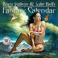 Boris Vallejo & Julie Bell's Fantasy Wall Calendar 2016