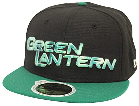 a917872e2f55c New Era 59Fifty Sub Glow Green Lantern Black Green Fitted Cap at ...