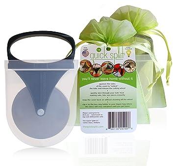 Amazon.com: La rápida Split 2 Pack con bolsas de regalo – 2 ...