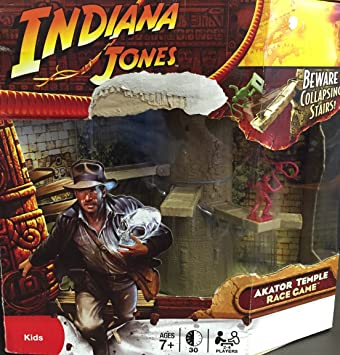 Indiana Jones Akator Temple Race Game: Amazon.es: Juguetes y juegos