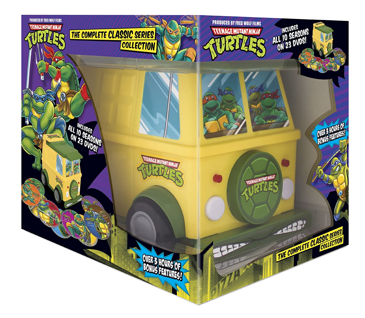 Teenage Mutant Ninja Turtles: Comp Classic Series Reino ...
